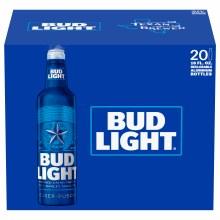 Bud Light 20pk 16oz Aluminums