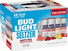 Bud Light Seltzer Variety Remix 12pk 12oz Cans