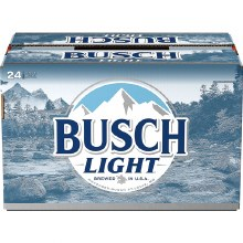 Busch Light 24pk 12oz Bottles