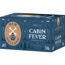 New Holland Cabin Fever Brown Ale 6pk 12oz Cans