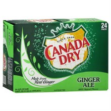Canada Dry Ginger Ale 24pk 12oz Cans