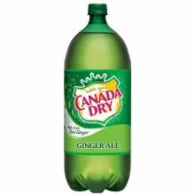 Canada Dry Ginger Ale 2 Liter Bottle