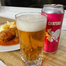 East End Chateau Rye Blond Ale 4pk 16oz Cans