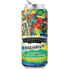 Ellicottville Chilanga Blueberry Hibiscus & Agave 4pk 16oz Cans