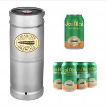 Cigar City Jai Alai 1/6 Keg