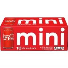 Coca-Cola Mini 10pk 7.5oz Cans