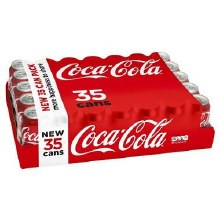 Coca-Cola 35pk 12oz Cans