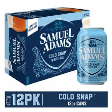 Sam Adams Cold Snap White Ale 12oz Can