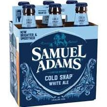 Sam Adams Cold Snap White Ale 6pk 12oz Bottles
