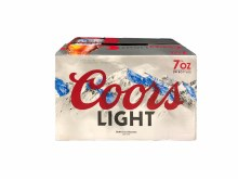 Coors Light 24pk 7oz Bottles