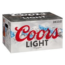Coors Light 24pk 12oz Loose Bottles