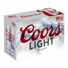 Coors Light 24pk 10oz Cans