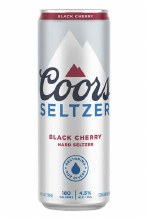 Coors Light Black Cherry Seltzer 24oz Can