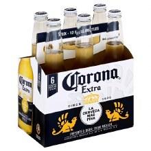 Corona Extra 6pk 12oz Bottles