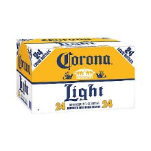 Corona Light 24pk 12oz Bottles Loose