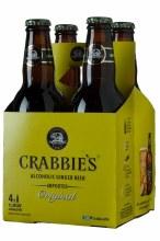 Crabbies Ginger Beer 4pk 12oz Bottles