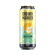 Crook & Marker Lemonade 19.2oz Can