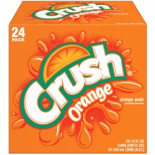 Orange Crush 24pk 12oz Cans