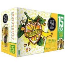 Great Lakes Crushworthy Lo Cal Citrus Wheat 15pk 12oz Cans