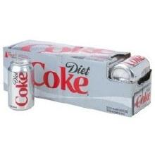 Diet Coca Cola 12pk Cans
