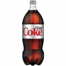 Diet Coco Cola 2 Liter Bottle