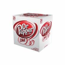 Diet Dr Pepper 24pk 12oz Cans