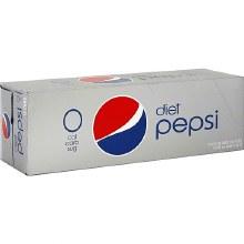 Diet Pepsi 12pk 12oz Cans