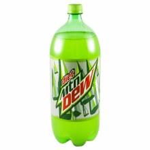 Diet Mountain Dew 2 Liter Plastic Bottle