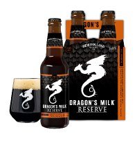 New Holland Dragons Milk 2021 Reserve 1 Bourbon Barrel Aged Stout with Peanut Butter and Cocoa 4pk 12oz Bottles