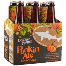 Dogfish Head Punkin Brown Ale 6pk 12oz Bottles