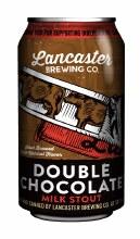 Lancaster Double Chocolate Milk Stout 12oz Can
