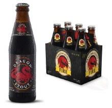 Desnoes and Geddes Dragon Stout Fire 6pk 12oz Bottles