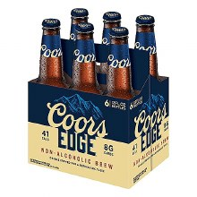 Coors Edge Non-Alcoholic 6pk 12oz Bottles