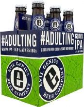 Evil Genius Adulting Guava IPA 6pk 12oz Bottles