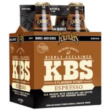 Founders KBS Espresso Stout 4pk 12oz Bottles
