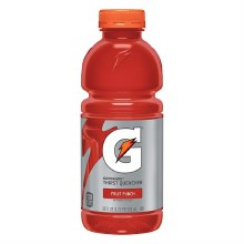 Fruit Punch Gatorade 20oz Plastic Bottle