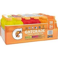 Gatorade Variety 24pk 20oz Plastic Bottles