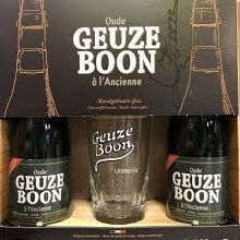 Oude Geuze Boon Holiday Gift 2pk Bottles Plus Complimentory Glass
