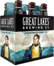 Great Lakes Commodore Perry IPA 6pk 12ok Bottles