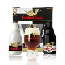 Gulden Draak Holiday Ale Variety 2pk 11.2oz Bottles With Complimentary Glass