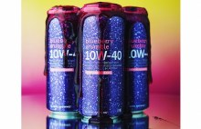 Hi-Wire 10W-40 Blueberry Crumble Imperial Stout 4pk 16oz Cans