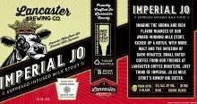 Lancaster Imperial Jo Espresso Infused Milk Stout 4pk 12oz Cans