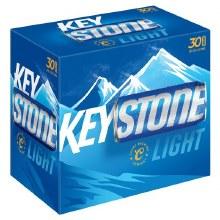 Keystone Light 30pk 12oz Cans