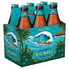 Kona Big Wave Golden Ale 6pk 12oz Bottles