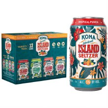 Kona Island Spiked Seltzer Variety 12pk 12oz Cans