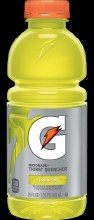 Lemon-Lime Gatorade 20oz Plastic Bottle