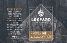 Logyard Proper Notch New England Style 2X IPA 4pk 16oz Cans