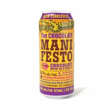 Flying Monkeys The Chocolate Manifesto Triple Chocolate Milk Stout 16oz Can