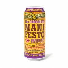 Flying Monkeys The Chocolate Manifesto Triple Chocolate Milk Stout 4pk 16oz Cans