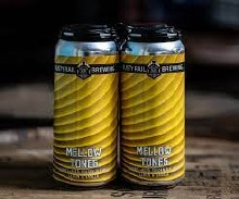 Rusty Rail Mellow Tones Barrel Aged Golden Ale With Lemon and Vanilla 16oz Can